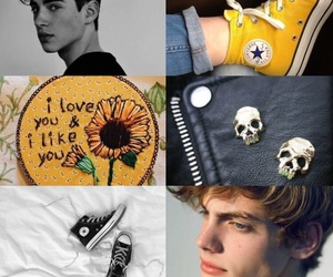 aesthetic, nico di angelo, and heroes of olympus image