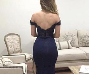evening dress, prom dress, and 2017 prom dress image