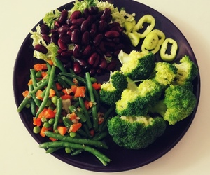 beans, colours, and diet image