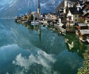 austria, lake, and places image