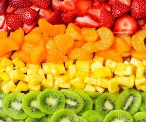 colours, food, and FRUiTS image