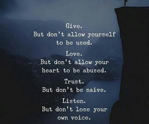 faith, give, and listen image