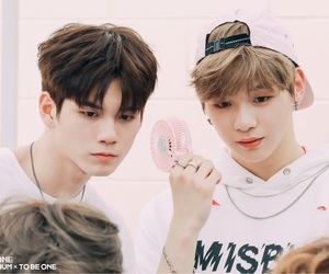 wanna one, ongniel, and kang daniel image