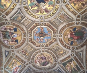 art, artistic, and ceiling image