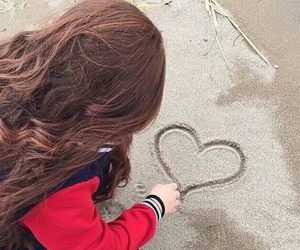 girl and heart it image