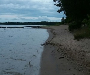 beach, summer, and finland image