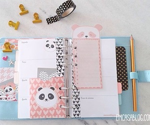 school, style, and stationery image