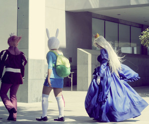 ice queen, adventure time, and prince gumball image