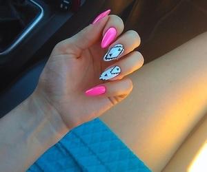 art, beautiful, and long nails image