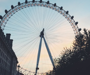 adventure, london eye, and view image