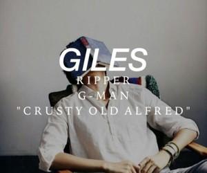 Giles and rupert giles image