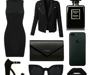fashion and black image