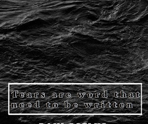 black, broken heart, and quotes image