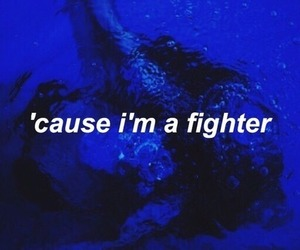 blue and fighter image