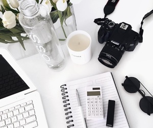 camera, white, and aesthetic image