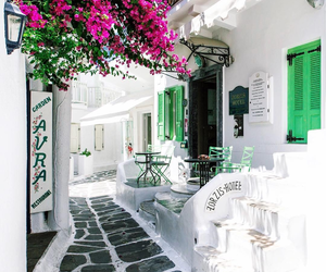 Greece, travel, and mykonos image