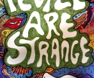strange, people, and the doors image