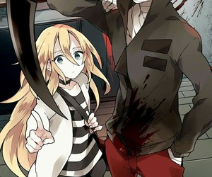 anime, satsuriku no tenshi, and jack image