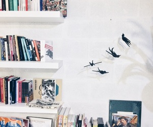 birds, decoration, and books image