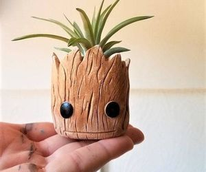 plant, groot, and cute image
