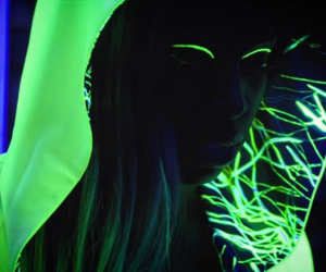 glow, green, and neon image