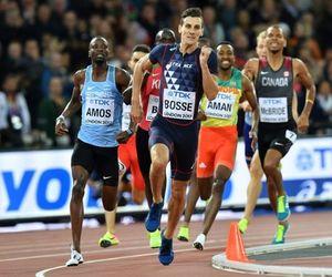 athletics, champion, and track image