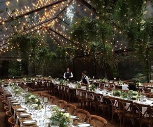 reception and wedding image