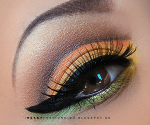 awesome, eye, and eyeshadow image