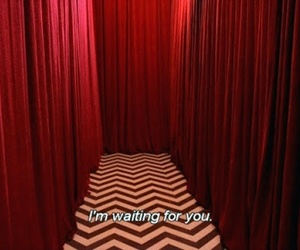 quotes, red, and Twin Peaks image