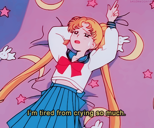 animated, girl, and sailor moon image