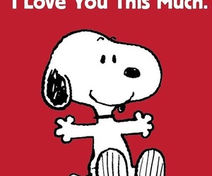 dog, pretty, and snoopy image