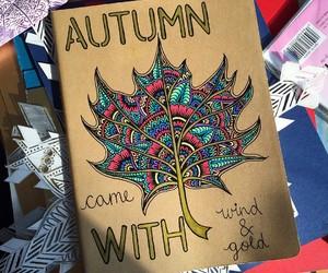 decoracion, otoño, and dibujo image
