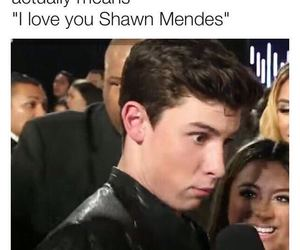 funny, ilysm, and shawn mendes image
