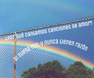aesthetic, frases, and rainbow image
