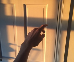 aesthetic, hand, and shadow image