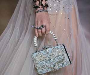 bag, haute couture, and stones image