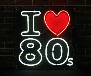 80s and light image