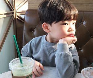 cute, korean, and baby image