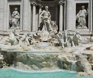art, italy, and fontana di trevi image