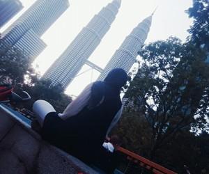 happy, hijab, and Malaysia image