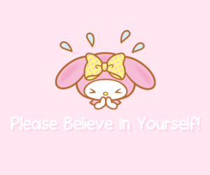 adorable, hello kitty, and my melody image