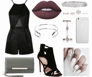 accessories, lips, and Polyvore image