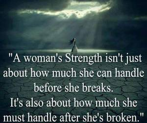 strength, woman, and quote image