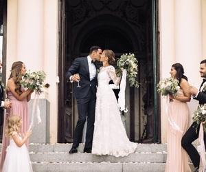 wedding, love, and beauty image