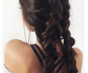 braids, trend, and hairstyle image