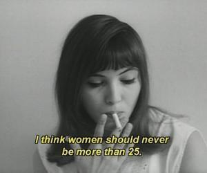 woman, quote, and anna karina image
