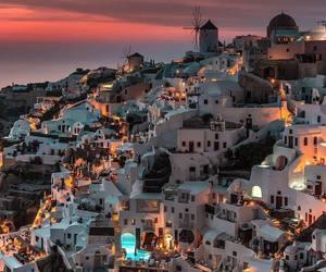 Greece, beautiful, and buildings image