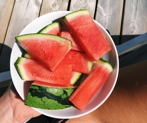 fitness, healthy, and melon image