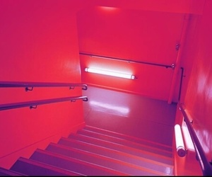 orange, aesthetic, and red image