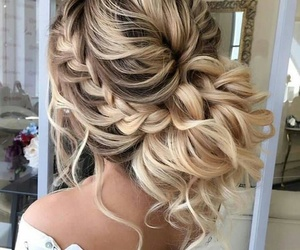 beauty, hair, and love image